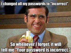 Password Incorrect